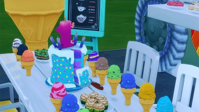 how to get birthday cake sims 4