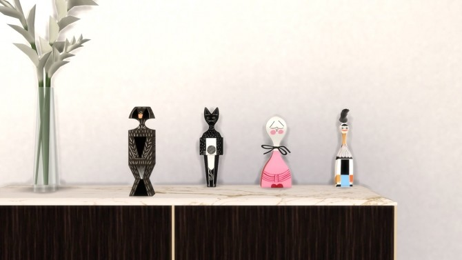 Sims 4 WOODEN DOLL CAT at Meinkatz Creations