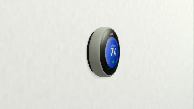 SMART THERMOSTAT at Meinkatz Creations image 8914 670x377 Sims 4 Updates