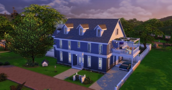 Sims 4 Adelaïde house by Chanchan24 at Sims Artists