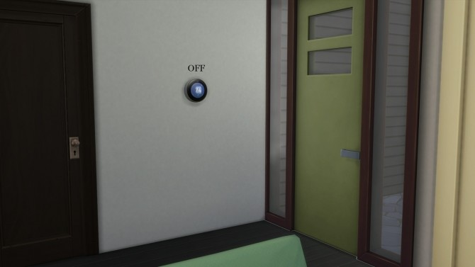 Sims 4 SMART THERMOSTAT at Meinkatz Creations