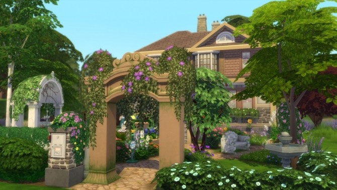 Sims 4 Tulipe house by SundaySims at Sims Artists