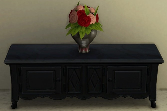 Base Game Coffee Table Recolor by ScarlettxBlack at Mod The Sims image 9112 670x447 Sims 4 Updates