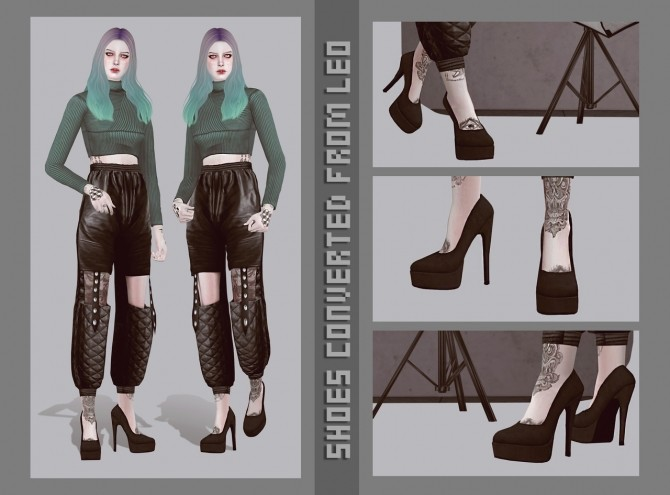 New shoes converted from Leo at Magic bot image 923 670x495 Sims 4 Updates
