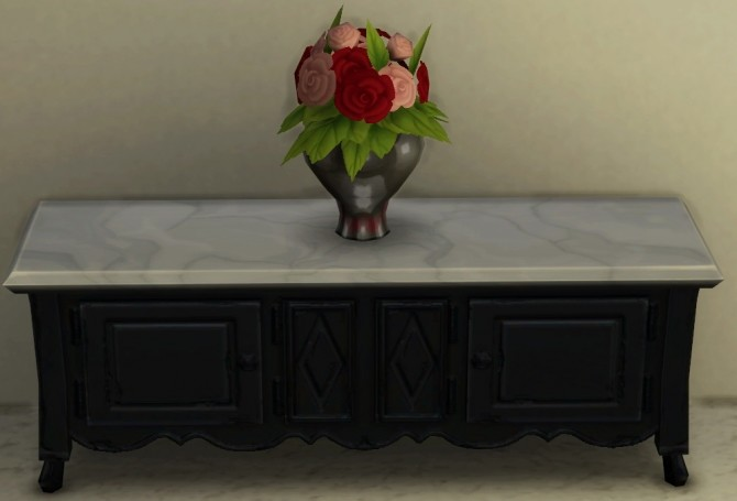 Base Game Coffee Table Recolor by ScarlettxBlack at Mod The Sims image 928 670x455 Sims 4 Updates