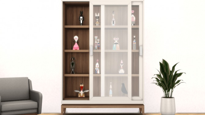 Sims 4 Wooden Dolls UPDATE at Meinkatz Creations