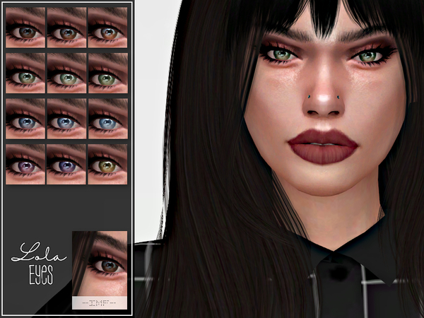 IMF Lola Eyes N.60 by IzzieMcFire at TSR image 930 Sims 4 Updates