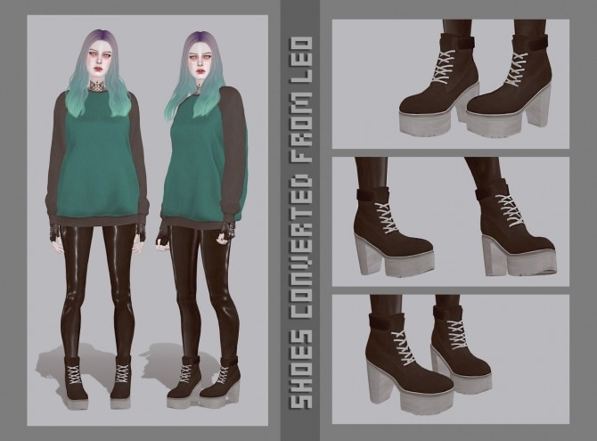 New shoes converted from Leo at Magic bot image 933 670x495 Sims 4 Updates