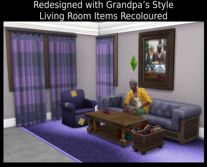 Redesigned with Grandpas Style living items by Simmiller at Mod The Sims image 936 670x542 Sims 4 Updates