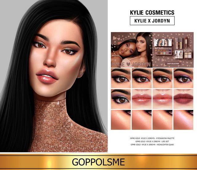 Sims 4 GPME GOLD Make up set (P) at GOPPOLS Me