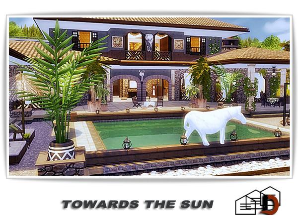 Towards the sun house by Danuta720 at TSR image 960 Sims 4 Updates