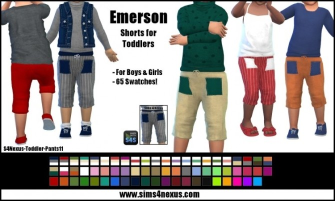 Emerson shorts by SamanthaGump at Sims 4 Nexus image 9613 670x402 Sims 4 Updates