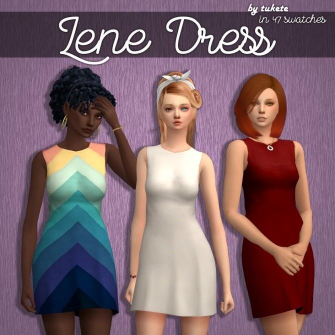 Sims 4 Lene Dress at Tukete