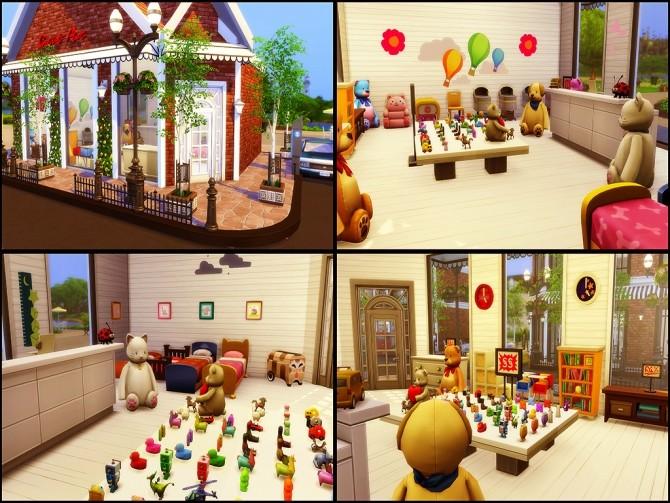 Gloria Shopping Street (NO CC) at MSQ Sims image 100 670x503 Sims 4 Updates