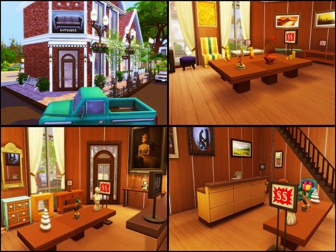 Gloria Shopping Street (NO CC) at MSQ Sims image 101 670x503 Sims 4 Updates