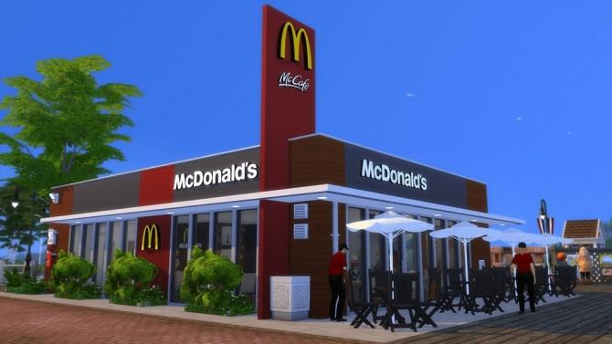 McDonald's Restaurant #4 by Ansett4Sims at RomerJon17 Productions image 10112 670x377 Sims 4 Updates