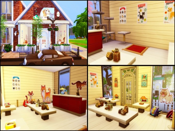 Gloria Shopping Street (NO CC) at MSQ Sims image 102 670x503 Sims 4 Updates