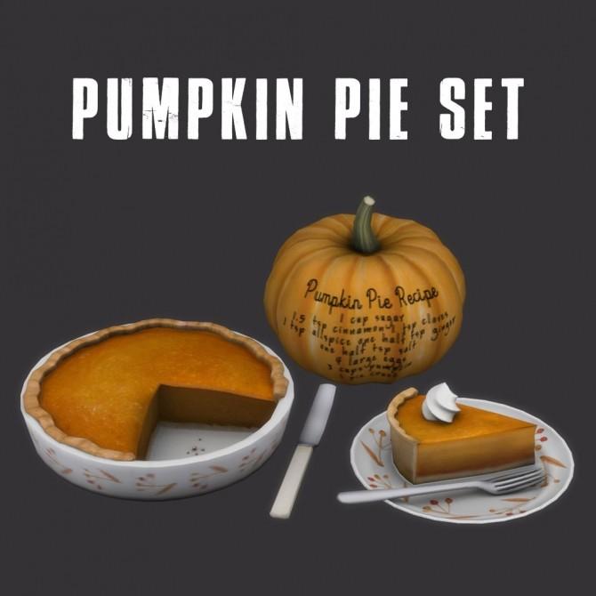 Sims 4 Pumpkin Pie (P) at Leo Sims