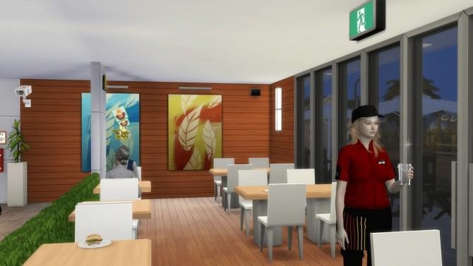 McDonald's Restaurant #4 by Ansett4Sims at RomerJon17 Productions image 1038 670x377 Sims 4 Updates