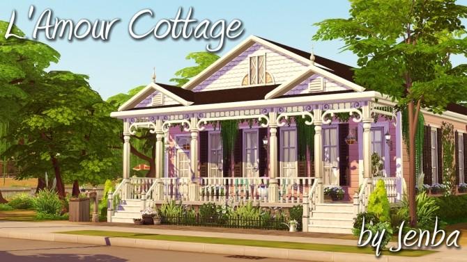LAmour Cottage at Jenba Sims image 1046 670x377 Sims 4 Updates