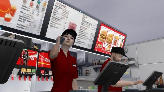 McDonald's Restaurant #4 by Ansett4Sims at RomerJon17 Productions image 1048 670x377 Sims 4 Updates