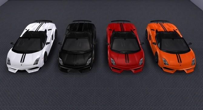 Sims 4 2010 Lamborghini Gallardo LP 570 4 Spyder Performante at Tyler Winston Cars