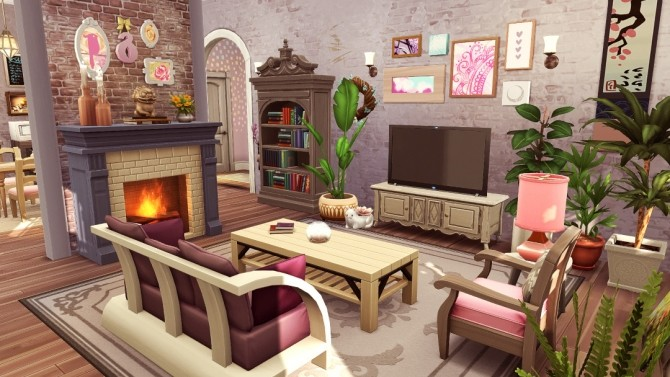 LAmour Cottage at Jenba Sims image 1065 670x377 Sims 4 Updates