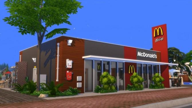 McDonald's Restaurant #4 by Ansett4Sims at RomerJon17 Productions image 1067 670x377 Sims 4 Updates