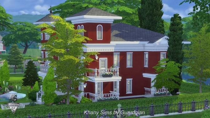 Red House by Guardgian at Khany Sims image 11011 670x377 Sims 4 Updates