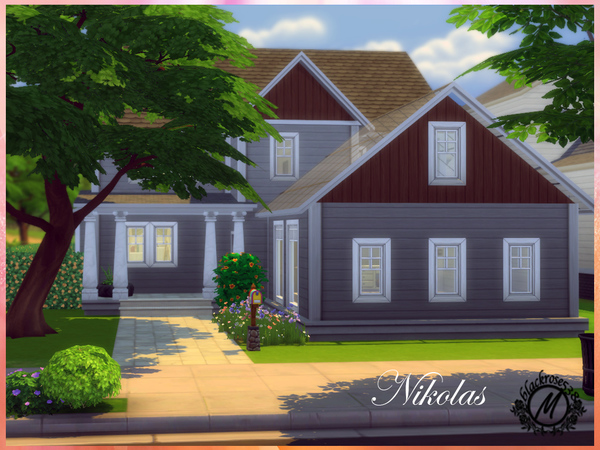 Nikolas home by blackrose538 at TSR image 1108 Sims 4 Updates
