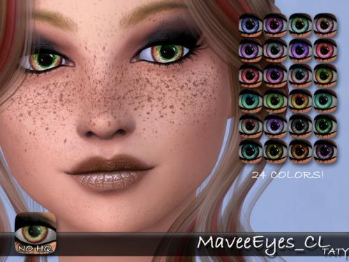Sims 4 Mavee eyes CL at Taty – Eámanë Palantír