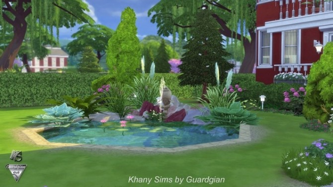 Red House by Guardgian at Khany Sims image 11112 670x377 Sims 4 Updates