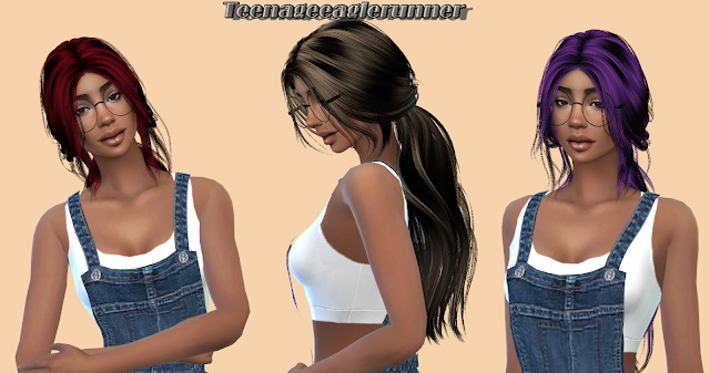Anto Youth Hair Recolor at Teenageeaglerunner image 1112 Sims 4 Updates