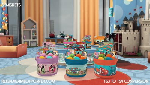 Sims 4 TS3 to TS4 Converted Toys at LolaSimblr