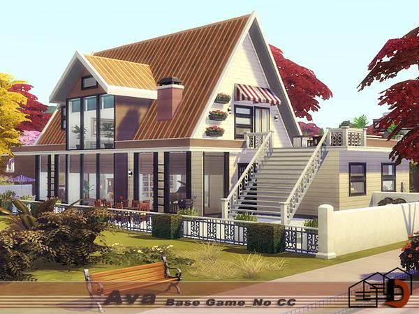 Ava house by Danuta720 at TSR image 1118 Sims 4 Updates