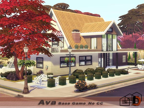 Ava house by Danuta720 at TSR image 1124 Sims 4 Updates