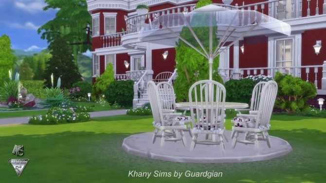 Red House by Guardgian at Khany Sims image 1129 670x377 Sims 4 Updates