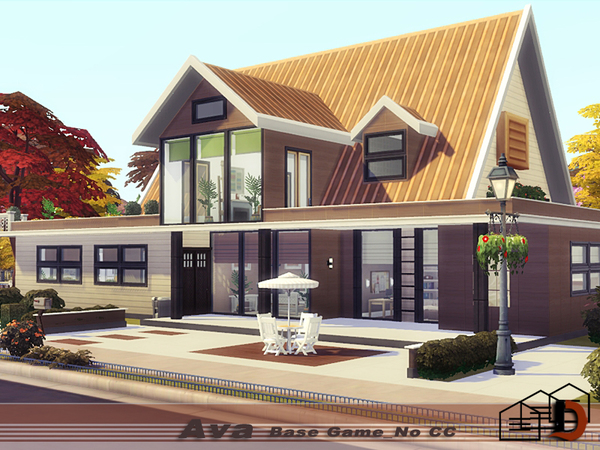 Ava house by Danuta720 at TSR image 1134 Sims 4 Updates