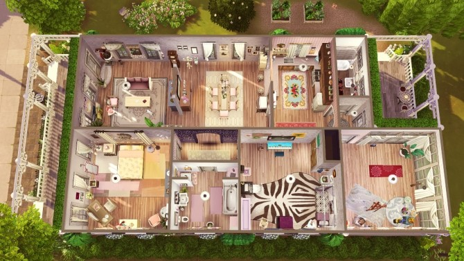 LAmour Cottage at Jenba Sims image 1135 670x377 Sims 4 Updates