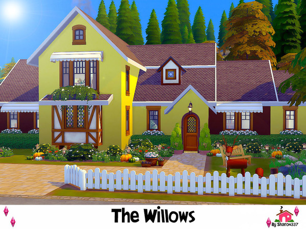 The Willows house by sharon337 at TSR image 1140 Sims 4 Updates