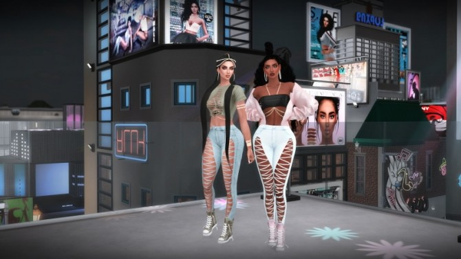Sims 4 New Slay Jeans at LolaSimblr