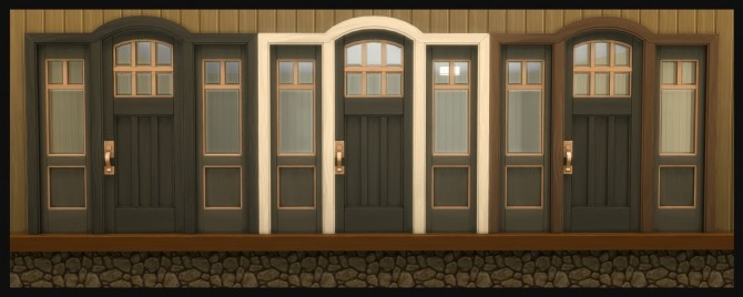 The Greatest Craftsman Rounded Single Door Recolours by Simmiller at Mod The Sims image 1172 670x268 Sims 4 Updates