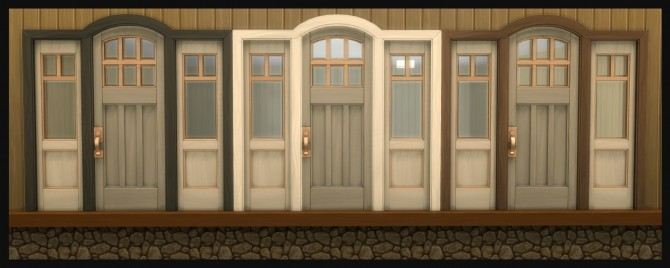 The Greatest Craftsman Rounded Single Door Recolours by Simmiller at Mod The Sims image 1183 670x268 Sims 4 Updates