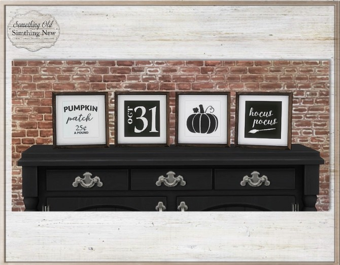 Sims 4 Halloween Deco Objects at Simthing New