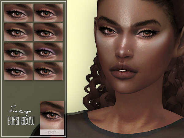 IMF Zoey Eyeshadow N.53 by IzzieMcFire at TSR image 1231 Sims 4 Updates