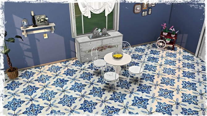 Old Ornate Floor Tile Collection by TaTschu at Blooming Rosy image 1268 670x378 Sims 4 Updates