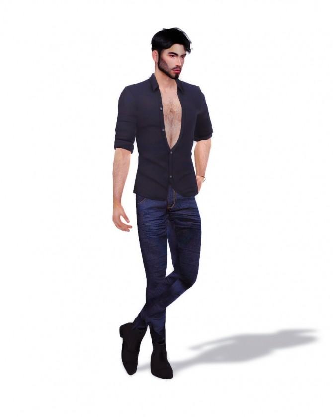 Sims 4 Male Modeling Poses set 1 at Katverse