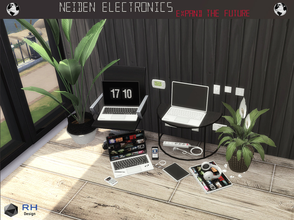 NEIDEN Electronics by RightHearted at TSR image 1317 Sims 4 Updates