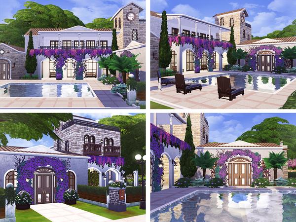 Violeta mediterranean villa by Rirann at TSR image 1320 Sims 4 Updates