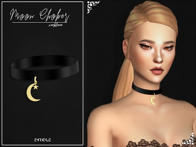 Sims 4 Simblreen sunglasses and choker at Enriques4